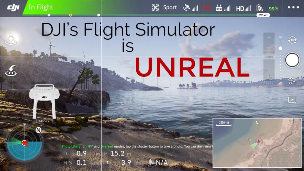 The DJI Flight Simulator is Unreal - Drone Academy