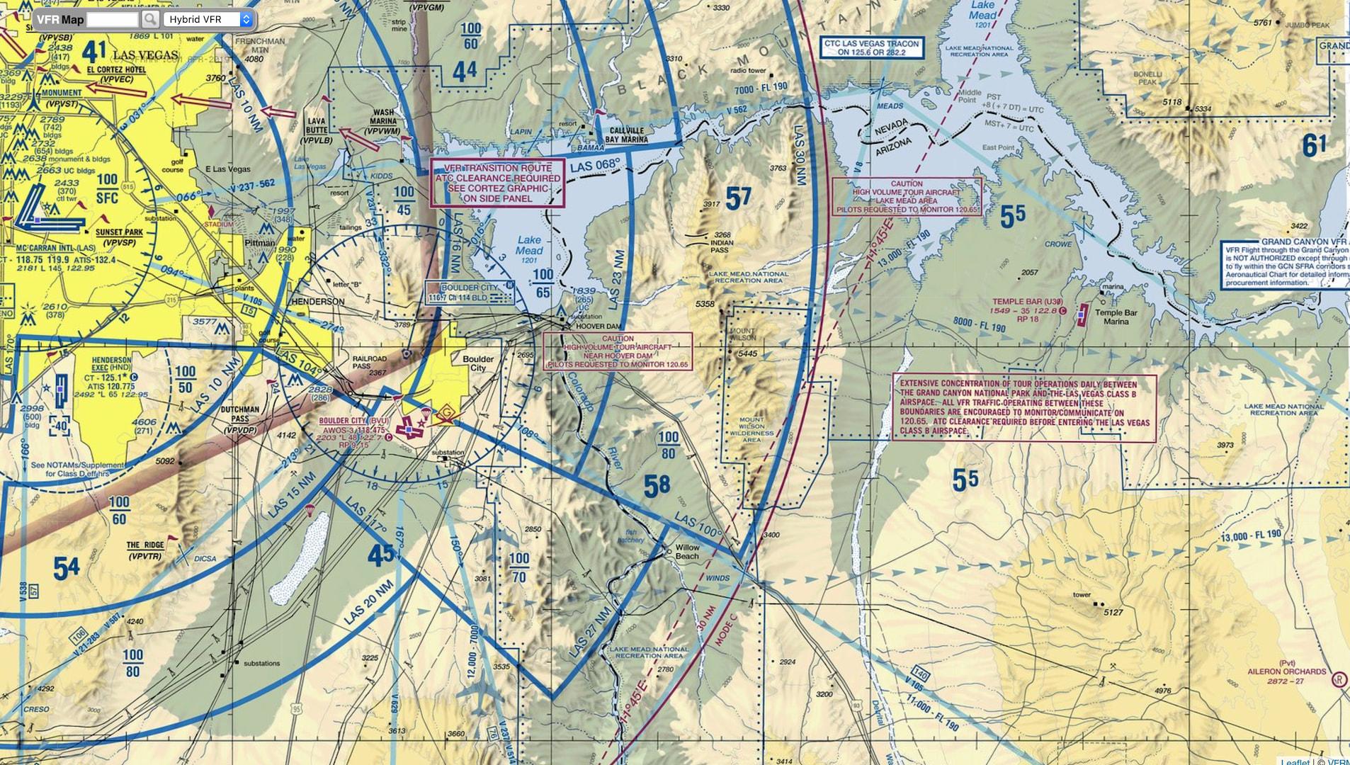 KLAS Airspace